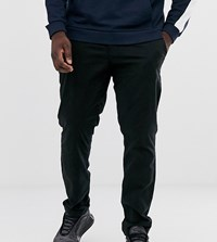Jacamo Tapered Fit Chino With Stretch In Black