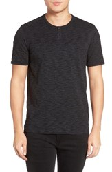 Calibrate Men's Space Dye One Button Henley