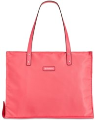 Giani Bernini Nylon Foldable Packacble Tote Only At Macy's Punch