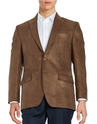 Lauren Ralph Lauren Sueded Blazer Copper