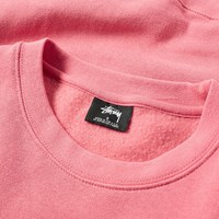 Stussy International Summer Applique Crew Sweat Pink