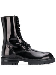 Ann Demeulemeester Ankle Height Boots Black