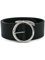 Orciani Bull Buckle Belt Black