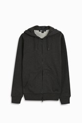 Y 3 Men S Classic Cotton Zip Hoodie Boutique1 Charcoal