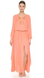 Tamara Mellon Embellished Caftan Sunset