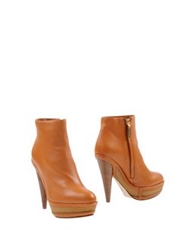 Rodo Ankle Boots Tan