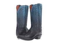 Lucchese Maxine Ombre Ocean Cowboy Boots Black