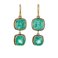 Judy Geib Mismatched Drop Earrings