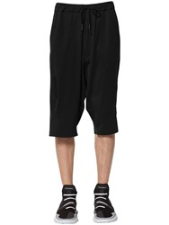Y 3 Sky Light Cotton Shorts