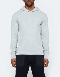 Reigning Champ Pullover Hoodie Lightweight Terry Heather Grey