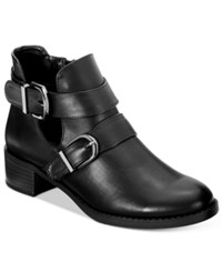 Easy Street Shoes Badge Booties Women's Black