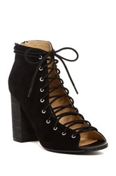 Chinese Laundry Biggest Lace Up Pump Black