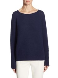 Max Mara Zeno Cashmere And Silk Sweater China Blue