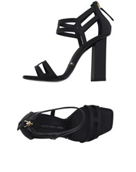 Gianmarco Lorenzi Footwear Sandals Women Black