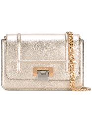 Visone Lizzy Small Shoulder Bag Women Leather One Size Metallic