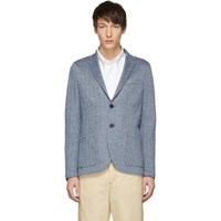 Harris Wharf London Blue 2B Sartorial Blazer
