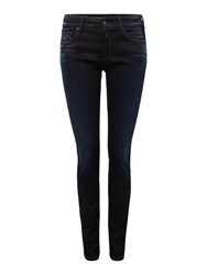 Replay Luz Hyperflex Skinny Fit Jeans Denim Dark Indigo