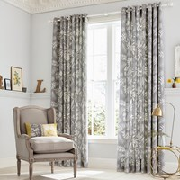 Clarissa Hulse Espinillo Lined Curtains Grey