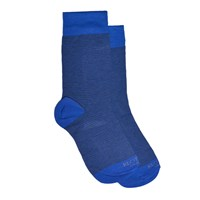 Kloters Milano Light Blue Striped Socks
