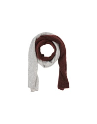 Stefanel Oblong Scarves Light Grey