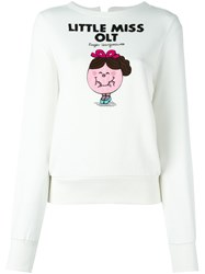 Olympia Le Tan Little Miss Olt Sweatshirt Nude And Neutrals