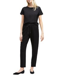 French Connection Whisper Tailored Jogger Trousers Black