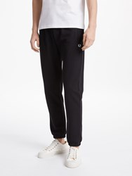 Fred Perry Amplified Reverse Tricot Jogging Bottoms Black