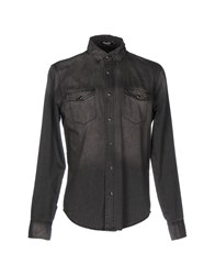 Blk Dnm Denim Shirts Black