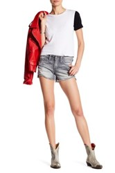 Silver Jeans Co. Aiko Mid Short Gray