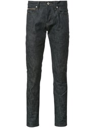 Naked And Famous Slim Fit Jeans Blue