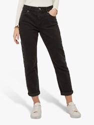 Ted Baker Corly Studded Jeans Mid Grey
