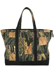 Palm Angels Camouflage Print Tote Multicolour
