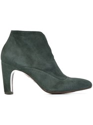 Chie Mihara 'Ferrian' Ankle Boots Green