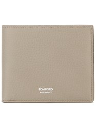 Tom Ford Branded Fold Out Wallet Grey