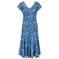 East Neelam Print Dress Indigo
