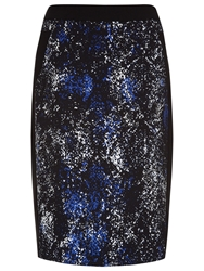 Planet Winter Snake Print Skirt Multi Dark