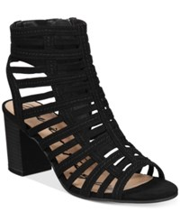 American Rag Sanchie Block Heel Sandals Only At Macy's Women's Shoes Black