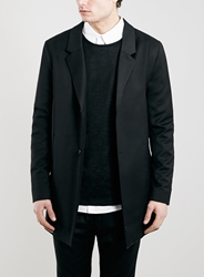 Topman Street Tailor Black Duster Coat