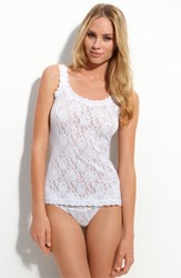 Hanky Panky Women's 'Signature Lace' Camisole White