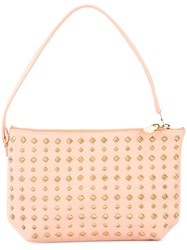 Calleen Cordero Vega Medium Clutch Nude Neutrals