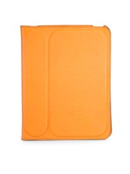Tod's Stamped Leather Case For Ipad 2 Teal Blue