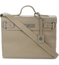 Kurt Geiger London Britt Leather Tote Taupe