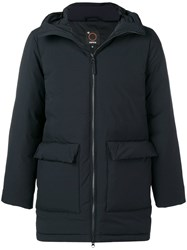 Aspesi Padded Raincoat Black