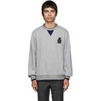 Dolce And Gabbana Grey Cashmere Plain Sweatshirt