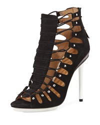 L.A.M.B. Falyn Gladiator Sandal Black