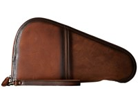 Sts Ranchwear The Foreman Pistol Case Brown Lg Bags