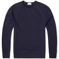 Acne Studios Acne College Crew Sweat Navy