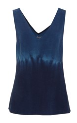 Maiyet V Neck Top Navy