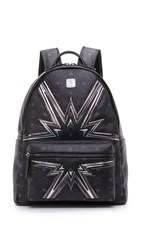 Mcm Stark Cyber Flash Backpack Black
