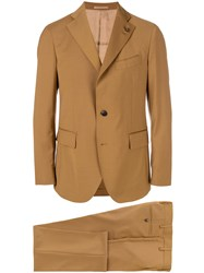Gabriele Pasini Two Piece Suit Brown